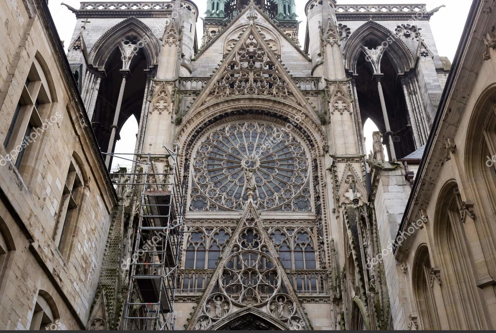 Cathédrale gothique Notre-Dame, Rouen, Normandie, France