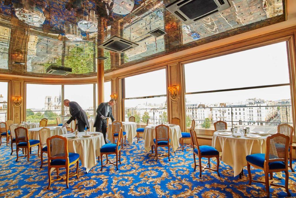 Французский ресторан фото