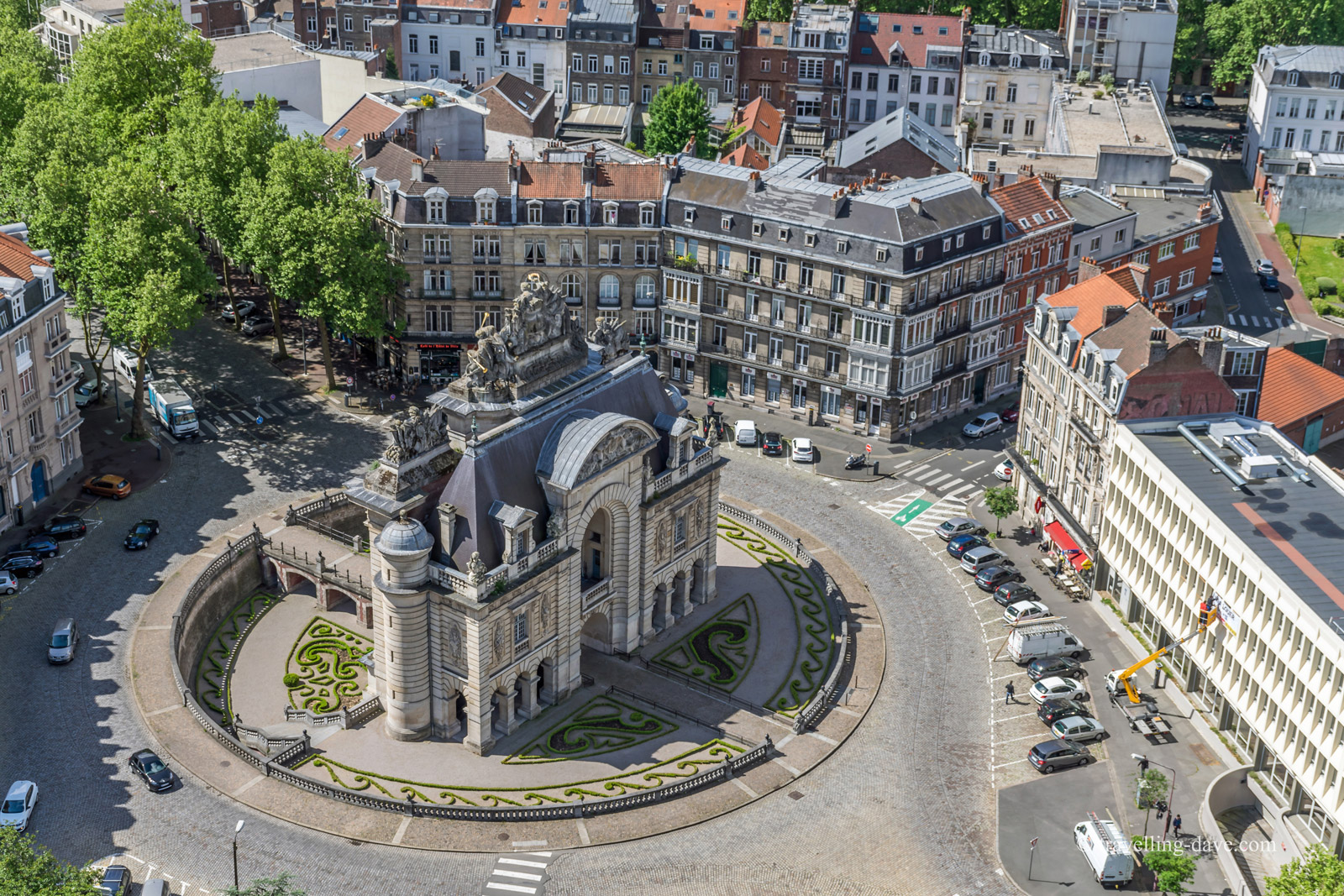la Porte de Paris, Lille