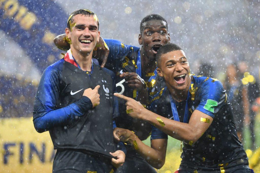 ЧМ Франция чемпион 2018