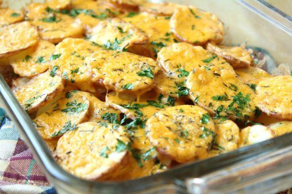 Рецепт картофеля по-французски