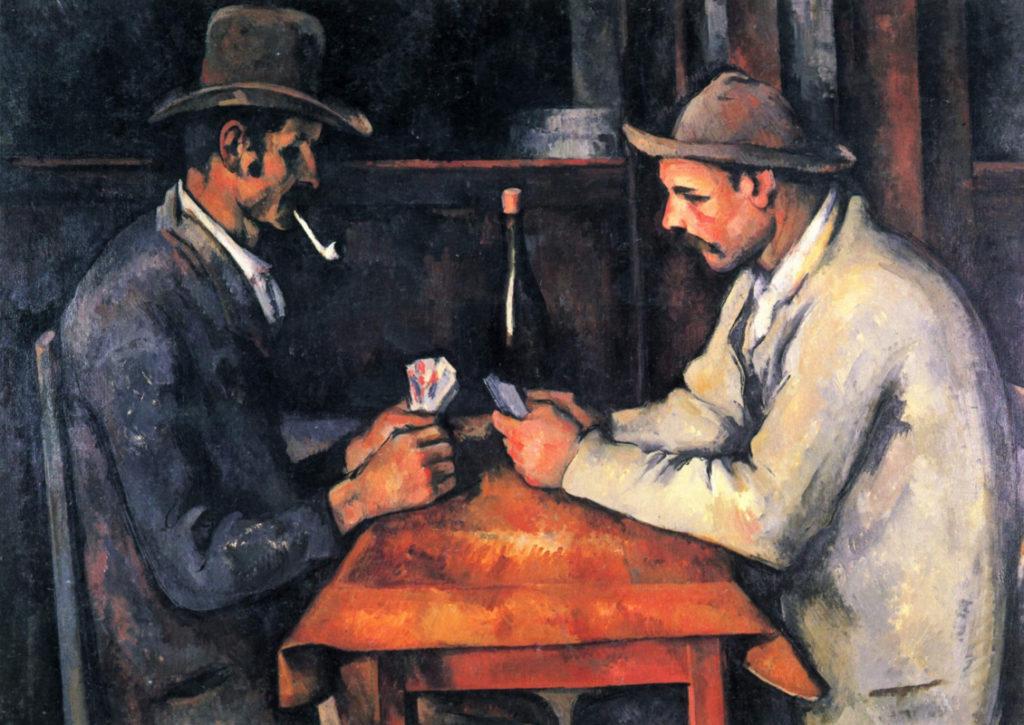"""Поль Сезанн, """"Игроки в карты"""""""