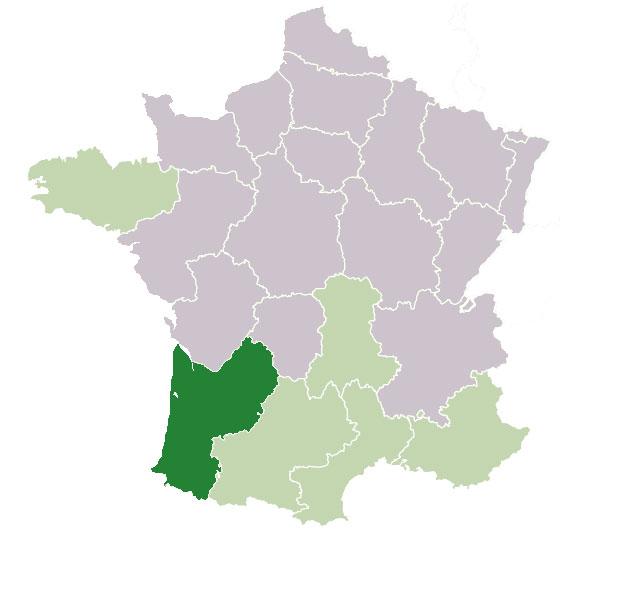 Аквитания, Франция