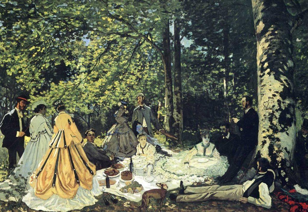 Клод Моне. Завтрак на траве
