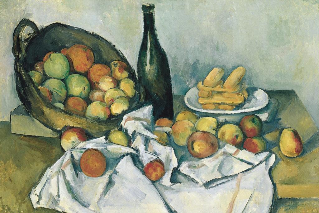Поль Сезанн, Корзина с яблоками