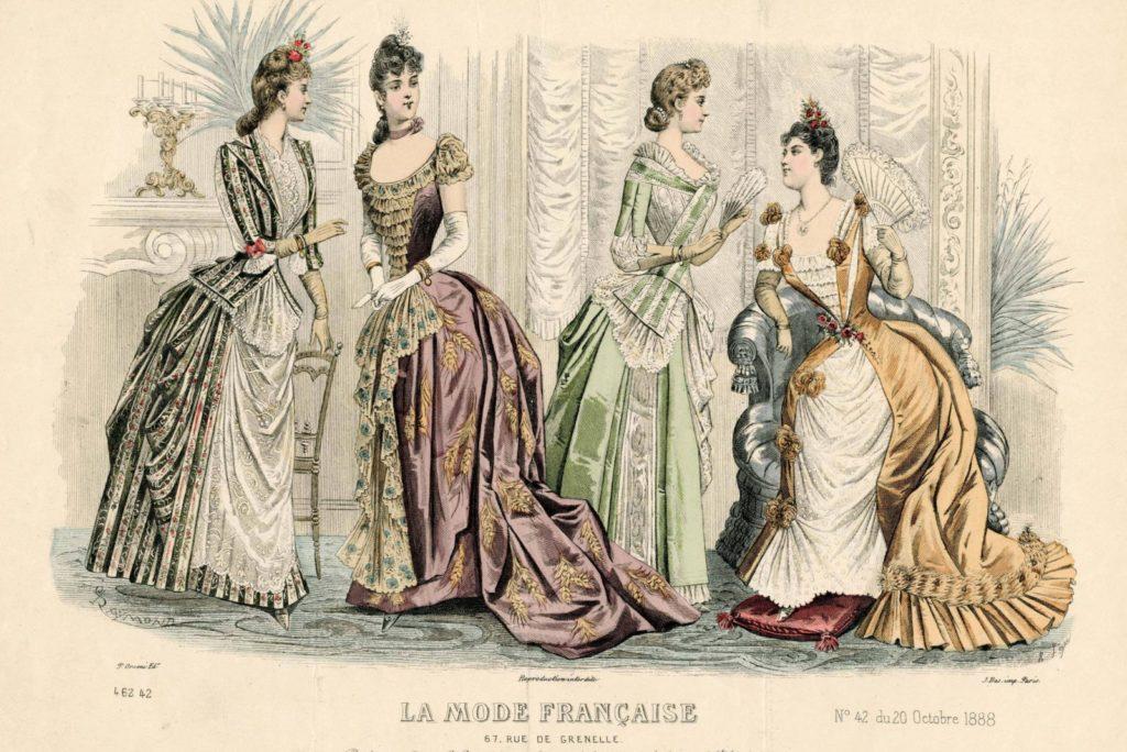 История французской моды