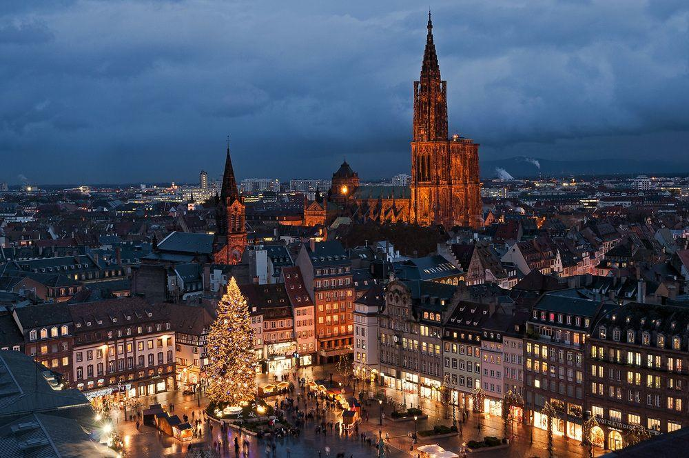 Достопримечательности Страсбурга фото