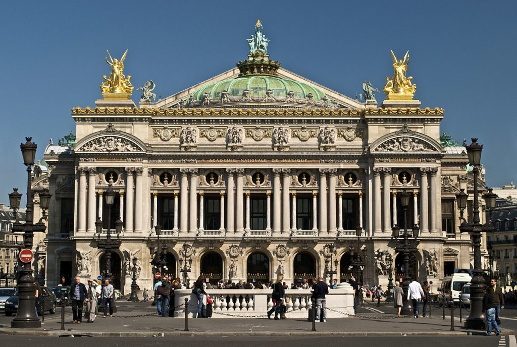 Парижская Гранд-Опера фото