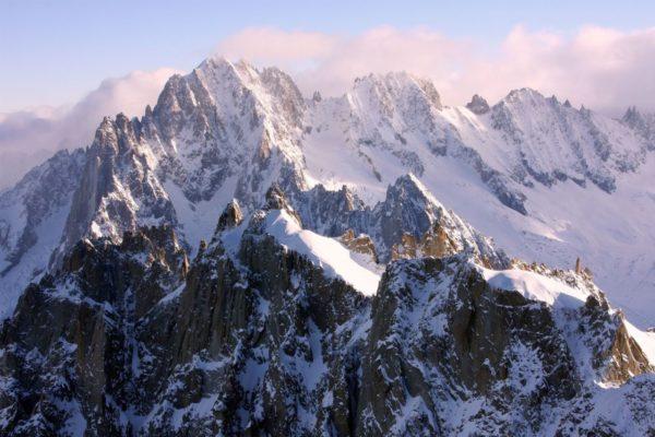 Гора Монблан фото