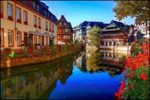 Страсбург средневековый город
