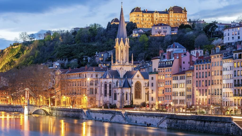 Город Лион, Франция