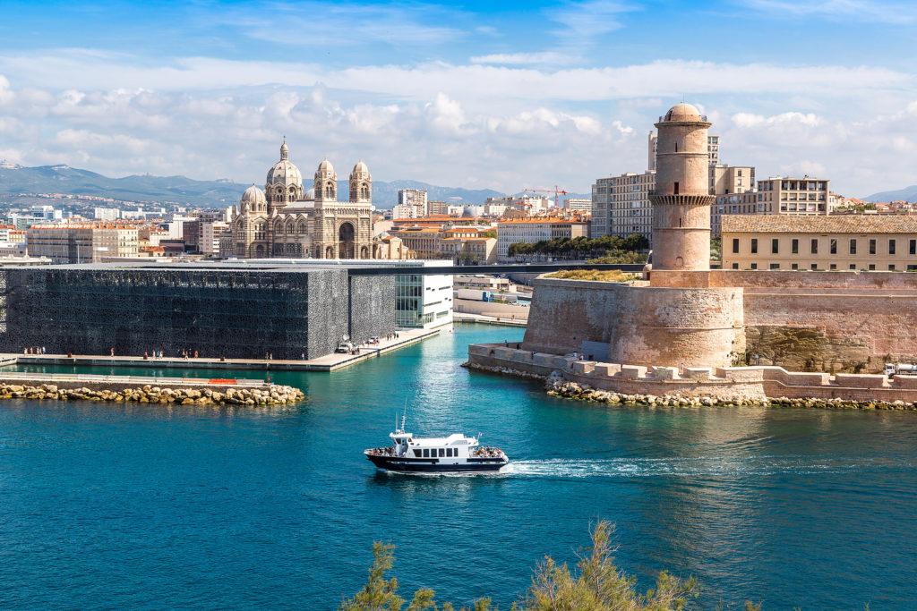 Средневековый город Марсель