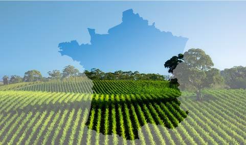 Сельское хозяйство Франции карта
