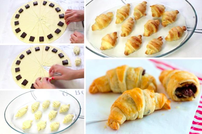 Французские круассаны пошаговый рецепт с фото