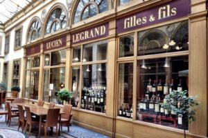Винный бар Caves Legrand, Париж