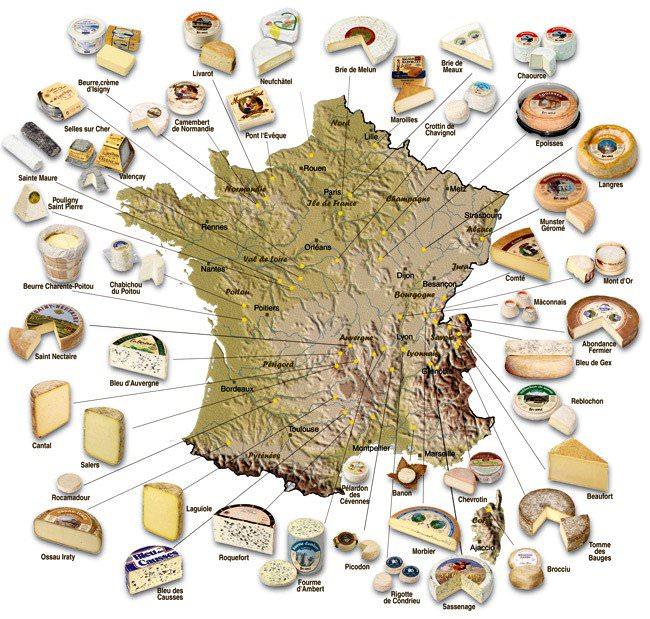 Французские сыры