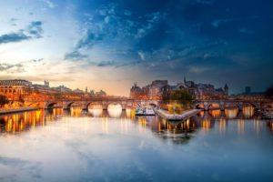Река Сена, Париж
