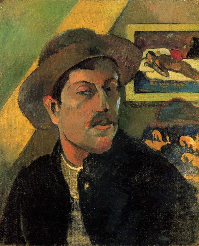Поль Гоген портрет