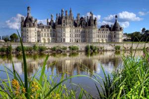 Замок Шамбор Франция фото