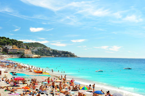 Пляж в Ницце