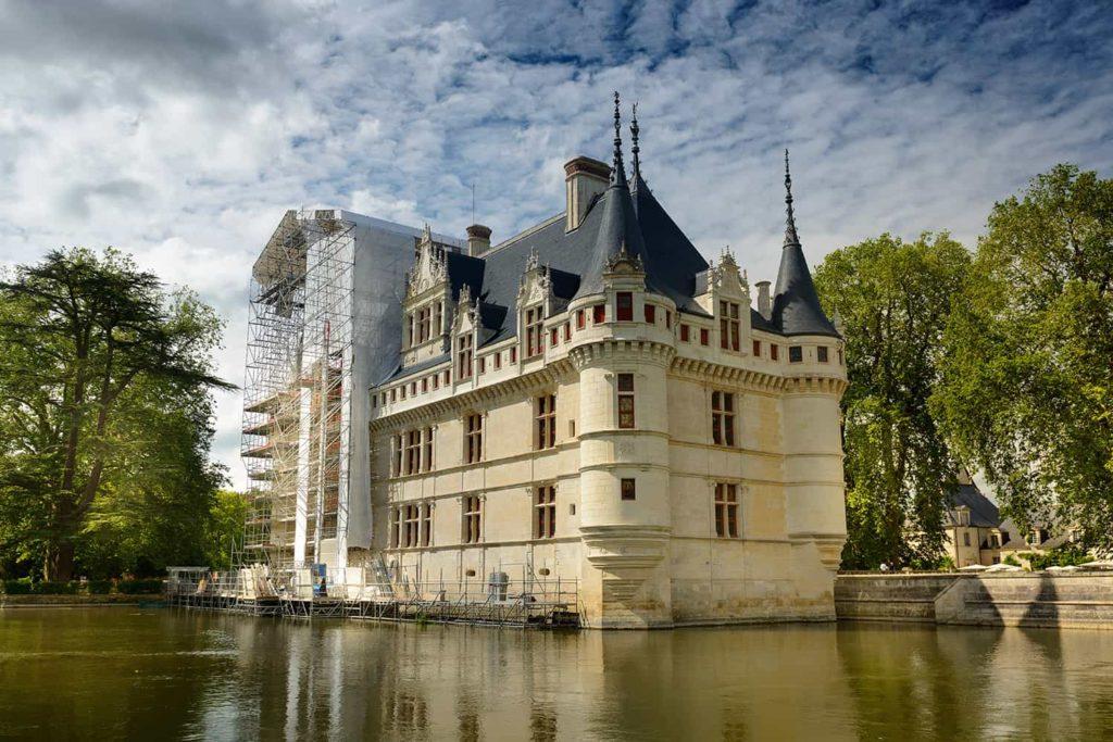 Замок Азей-ле-Ридо, Франция