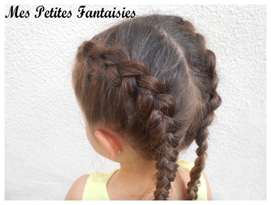 Французские косички для девочек фото