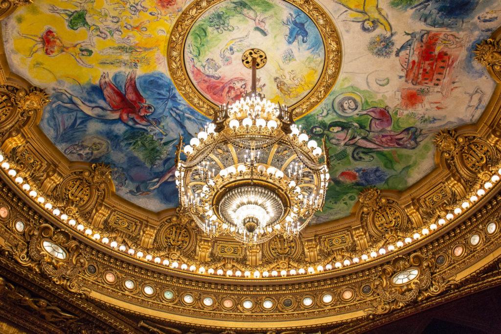 Парижская Опера Марк Шагал