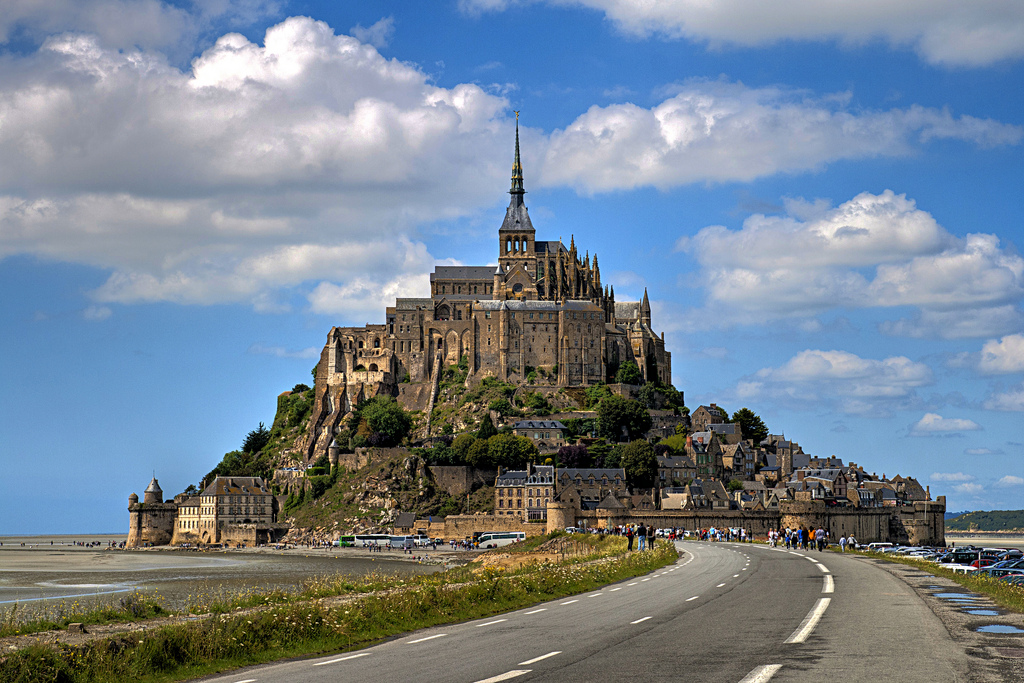 Франция, Mont-Saint-Michel