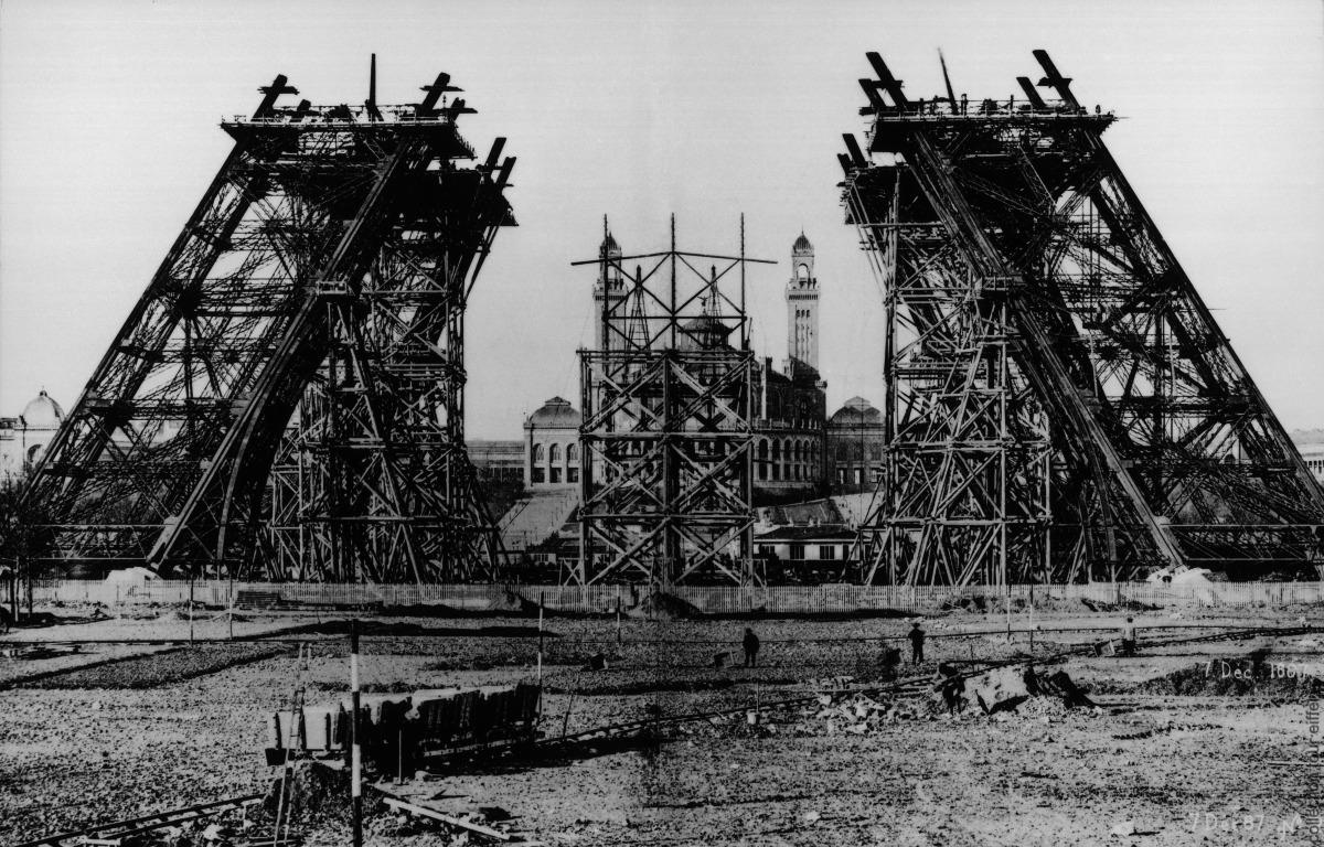 История создания Эйфелевой башни