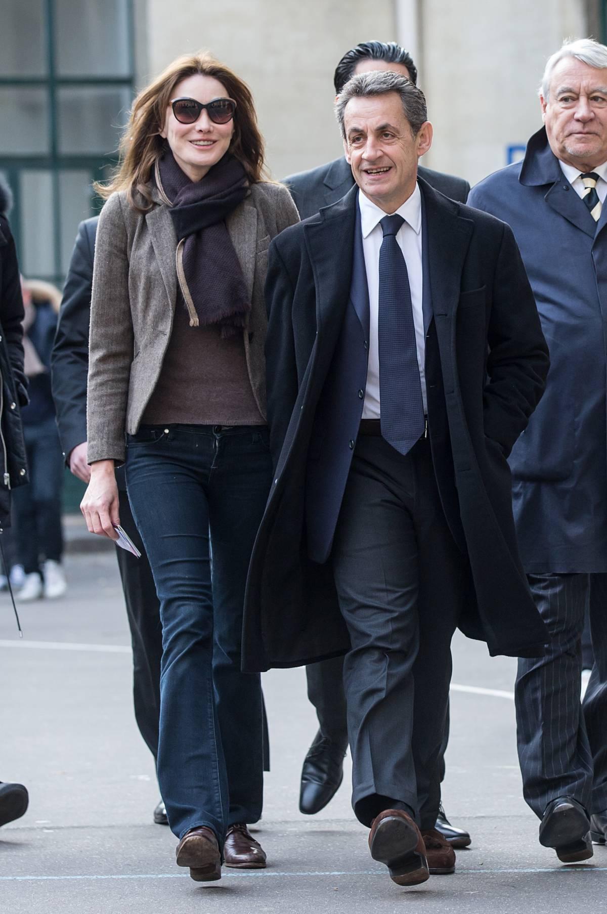 Николя Саркози и Карла Бруни фото