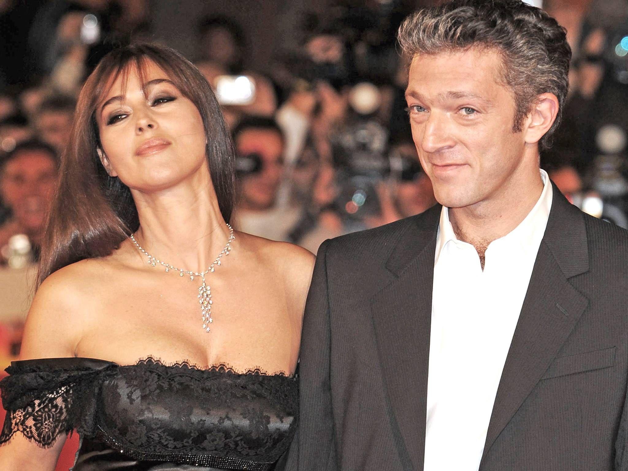 Венсан Кассель и Моника Белуччи фото