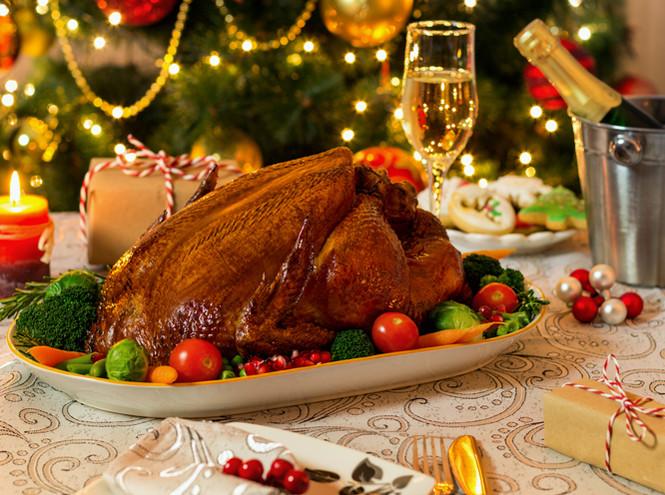 Блюда на Рождество во Франции