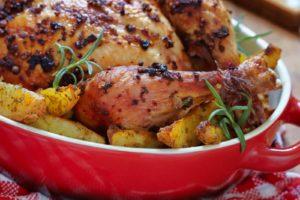 Курица по-французски в духовке фото