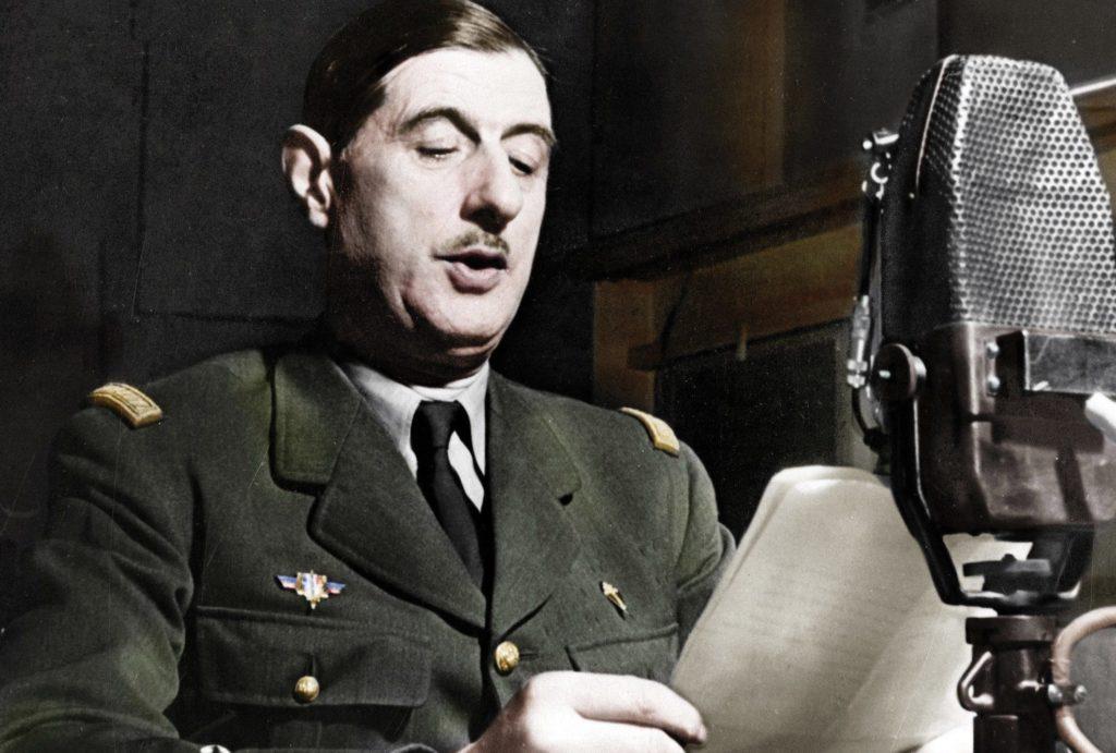 Шарль де Голль фото