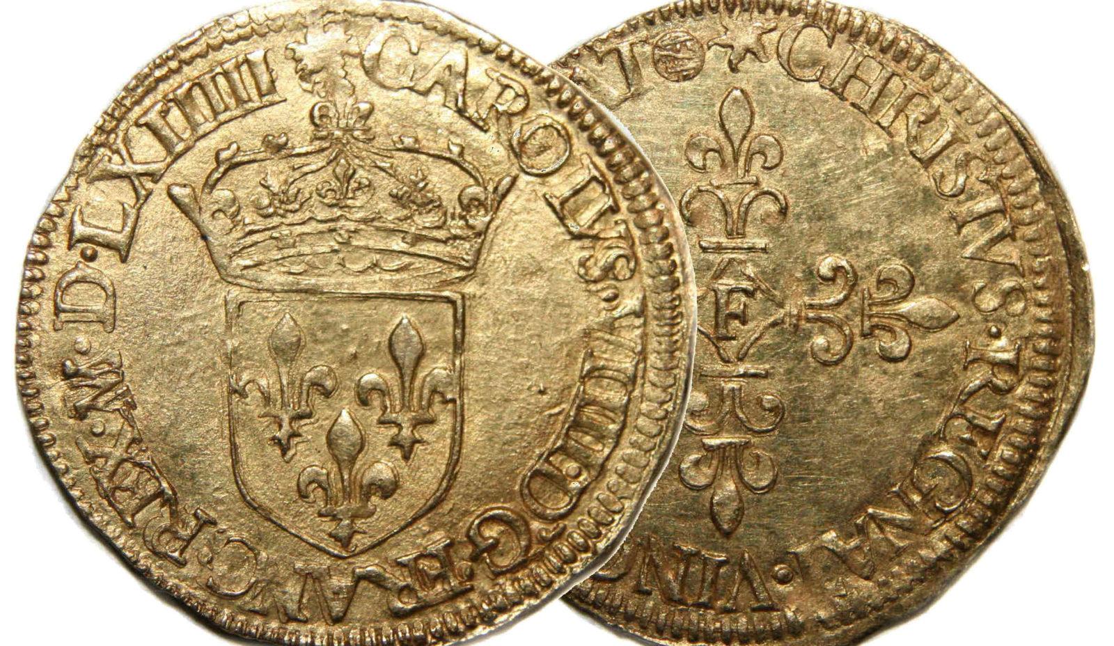 Французские монеты. Экю