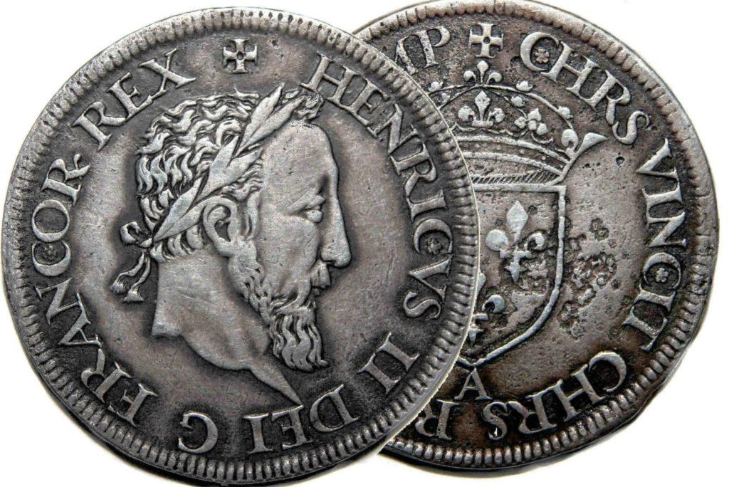 Французская монета фото