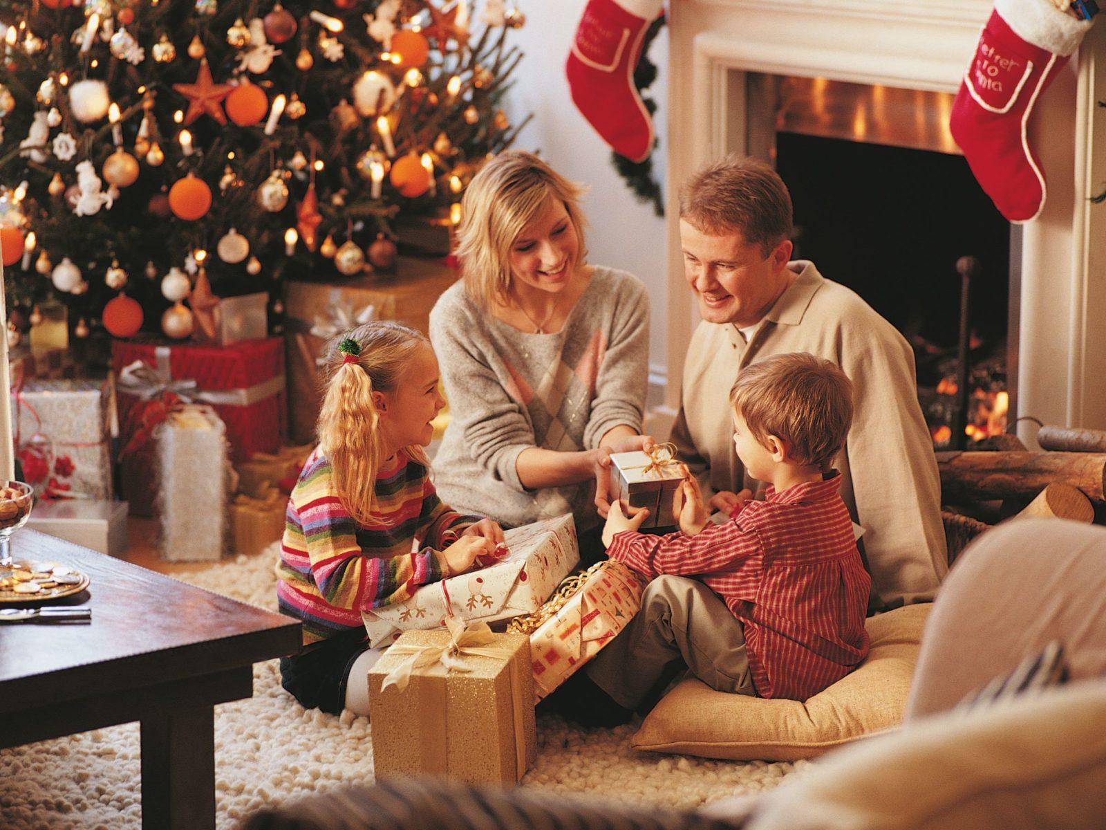 Подарки на Рождество во Франции