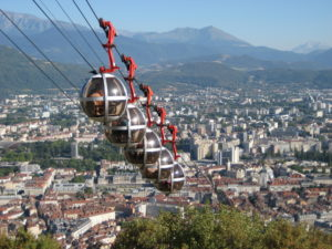 Город Гренобль, Франция