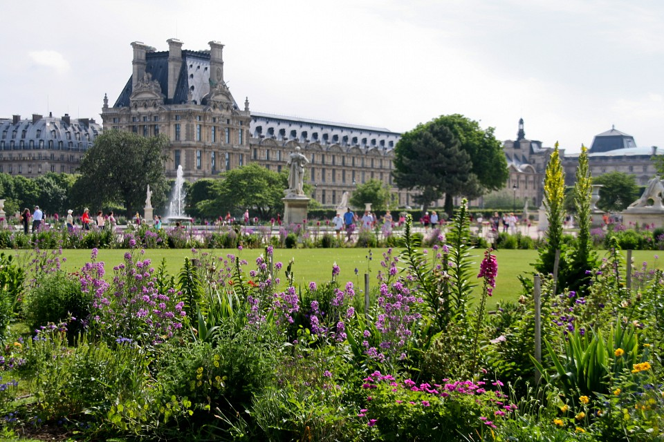 Сад Тюильри фото