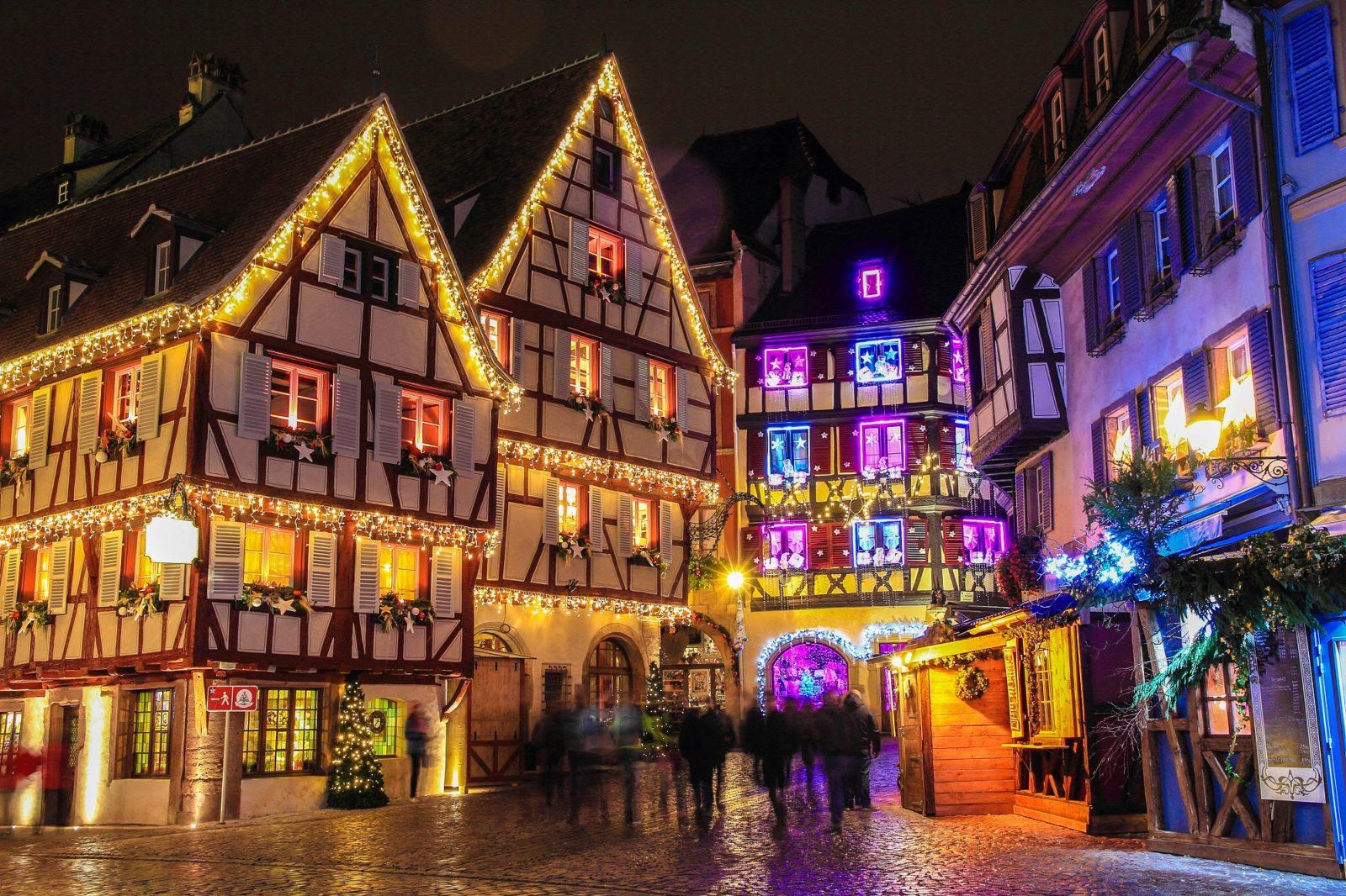 Рождество в Эльзасе, Франция
