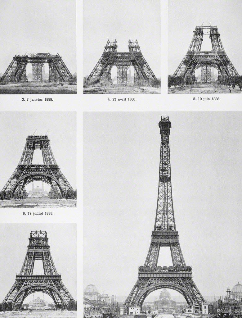 1887-1889, Париж, Франция, Эйфелева башня