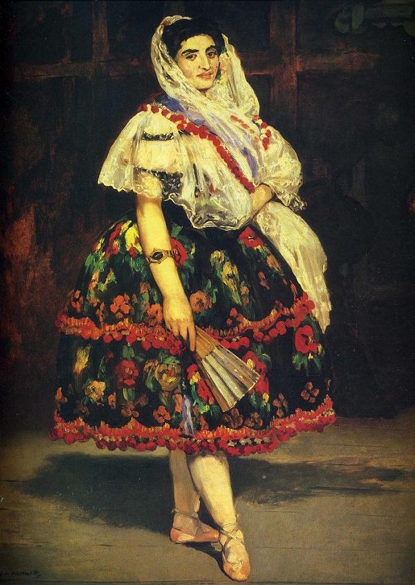 """Эдуард Мане """"Лола из Валенсии"""", 1862"""