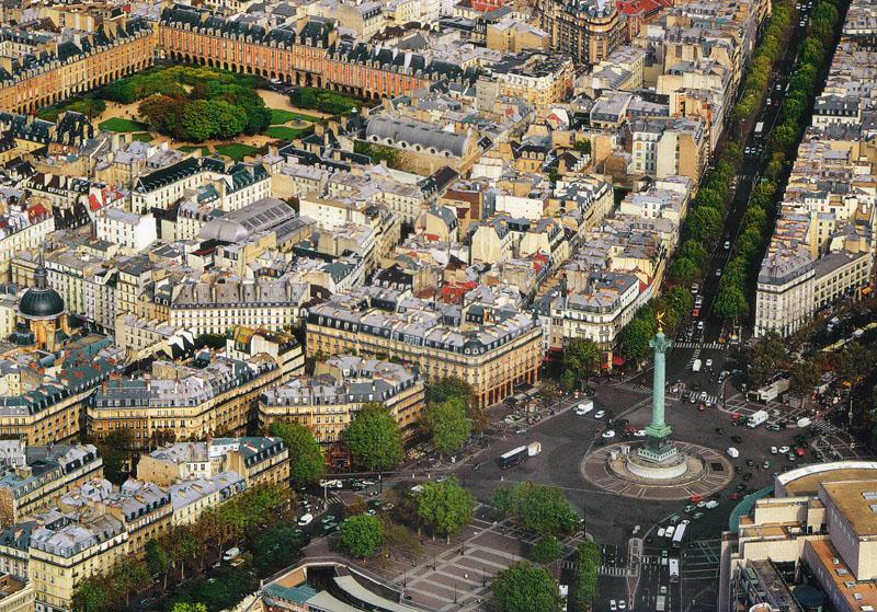 Площадь Бастилии, 11-й округ Парижа