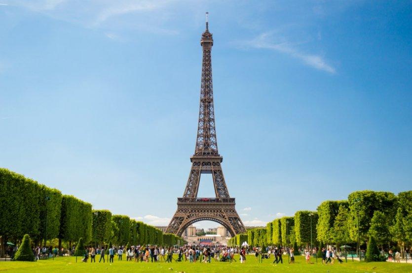 Эйфелева башня, 7-ой округ Парижа
