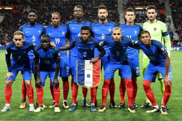 Сборная Франции по футболу состав