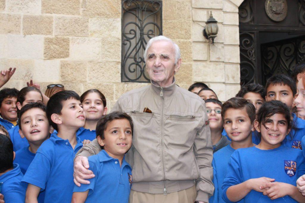 Шарль Азнавур в Армении