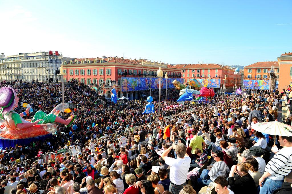 Карнавал в Ницце 2018