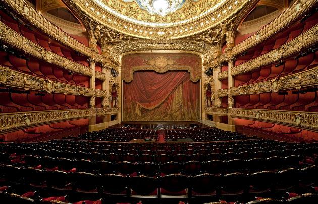 Опера Гарнье плафон