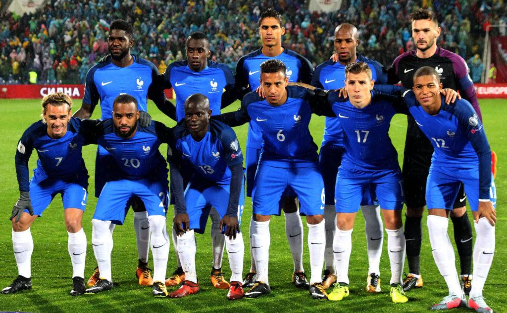 Сборная Франции по футболу состав 2018