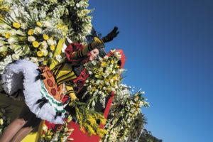 Карнавал цветов в Ницце